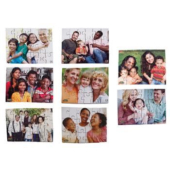 Modern Families Puzzles, Set of 8