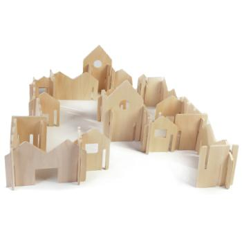Natural Happy Architect, Age 3+, Set of 28 Pieces