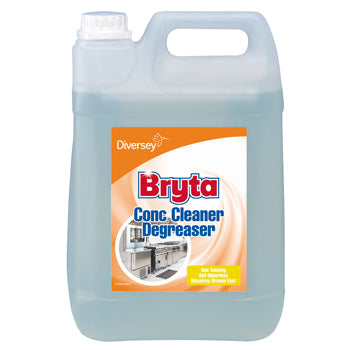 Degreasers, Bryta Cleaner Degreaser Concentrate, Diversey, Case of 2 x 5 Litres
