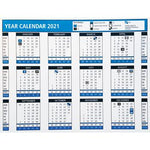 Calendars 2021, Desk Type with Stand, Each