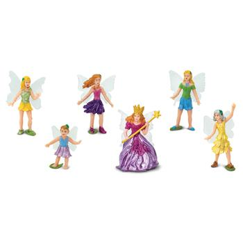 Fairy Mini Figures, Set of 6