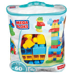 Nursery Toys, Pre-School Big Building Bag, Ages 1-5, Set of 60 Pieces