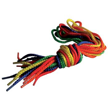 Threading And Lacing, Coloured Laces, Pack of 10