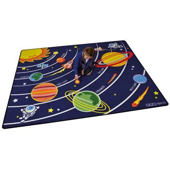 Learning Rugs, Economy Pile Rugs, Colour Space, 2400 x 2000mm, Each