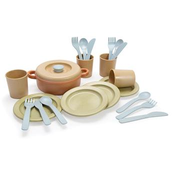 Bioplastic Range, Dinner Set, Age 2+, Set of 22 Pieces