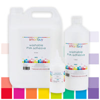 PVA Washable Adhesive, Class Pack of 24 x 180ml
