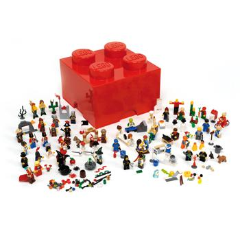 LEGO Education, Minifigures Character Set, 4 Years+, Set of 470 Pieces