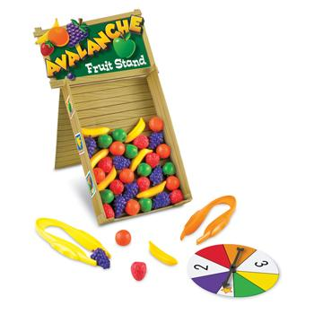 Counting And Sorting, Avalanche Fruit Stand, Age 3+, Set