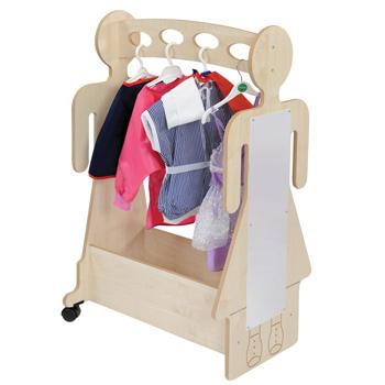 Dress Up Trolley, Maple, Each