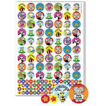 Stickers, Motivation & Reward, Themed Pictures, 25 & 10mm, Pack of 1048 Stickers