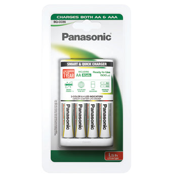 Battery Charger, Panasonic BQ-C55, Each