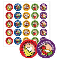 Stickers, Healthy Lunchtime, Pack of 125