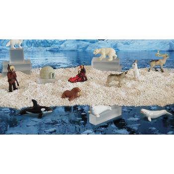 Mini Story Box Props - Arctic Figures, Set of 12