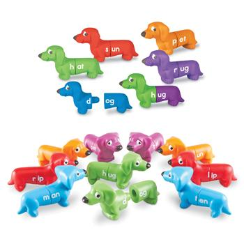 Rhyming Pups, Age 3+, Set of 10