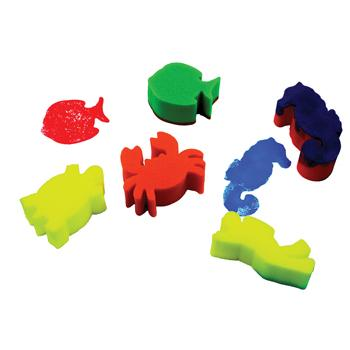 Sponge Foam Shapes, Sea Life, Pack of 5
