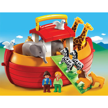 Playmobil 1.2.3, My Take Along Noah's Ark, Age 18 Months +, Set