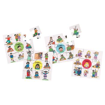 I Can Puzzles, Age 3-6, Set of 4