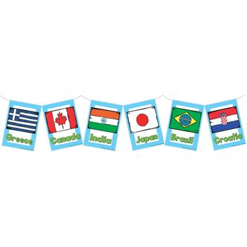 Flags of The World, Poster Pack, Set of 40