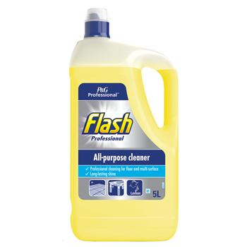 Professional Flash All Purpose Liquids, Multi-Surface and Floor Cleaner, Lemon