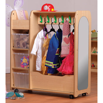 Dressing Up Storage, Millhouse Mobile Dressing Up Unit, Age 3+, Each