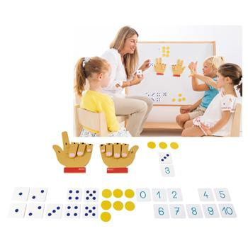 Magnetic Counting Hands, Set