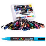Uni Posca Paint Markers, Extra Fine Tip Class Pack, Class Pack of 22