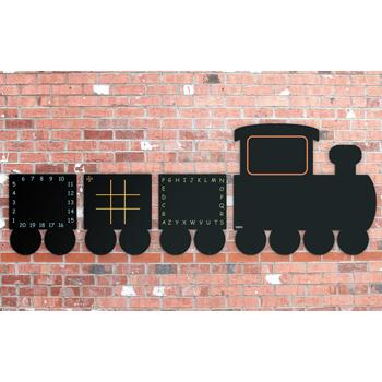 Train Chalkboards, Set of 4