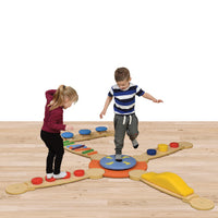 Sensory Balance Beams Sets, Medium, Age 2+, Set