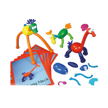 Crazy Creatures, Age 3+, Set of 66 Pieces