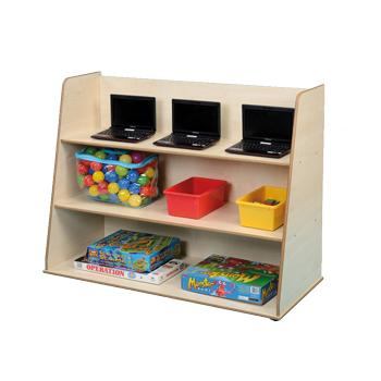 Twoey Toys, Maple Effect Furniture, Free Standing Shelf