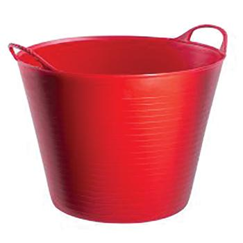 Red Gorilla Tubs, 38 litre - Large, Red Tub, Each