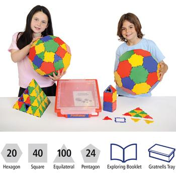 Polydron, Class Pack, Pack of 184 Pieces