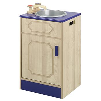 Nursery Kitchen Furniture, Individual Elements, Single Sink Unit, Each