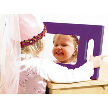 Hand-Held Foam Mirror, Age 3+, Each