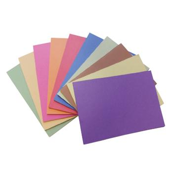Paper, Sugar, Brights Assorted, 100gsm, Pack of 250 Sheets