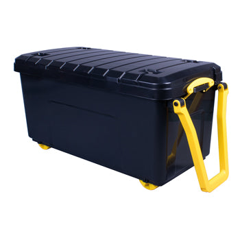 Nestable Heavy Duty Storage Trunk, 64 Litre, 700 x 450 x 340mm, Each
