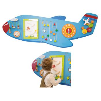 Aeroplane Activity Wall Panels, Age 12 Months+, Each