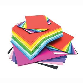 Bumper Value Assorted Packs, Assorted Lightweight Vivid Card, A4 & A3, Pack of 375 Sheets