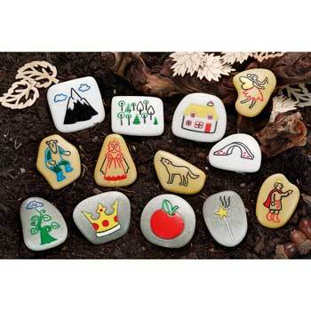Story Stones, Fairy Tales, Age 2+, Set of 13
