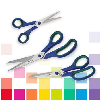 Scissors, Soft Grip, Pair