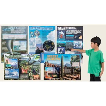 Extreme Climates & Weather Bulletin Board Set, Each