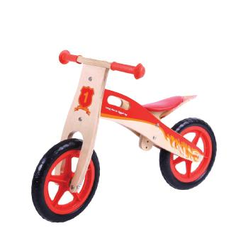 Balance/Coordination Vehicles, Wooden Balance Bike, Age 3+, Each