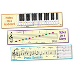 Music Basics Frieze Set of 3