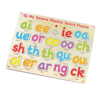 More Phonics Sound Puzzle, Age 3+, Each