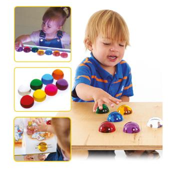 Perception Semispheres, Age 3 Mths+, Set of 8