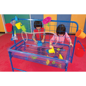 Sand and Water Play, Water Tray With Rack & Accessories, Set