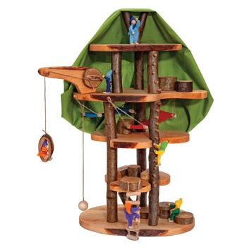 Elves' Large Tree House, Age 3+, Each