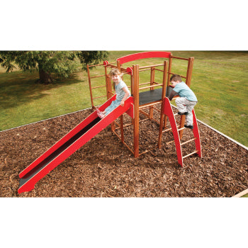 Millhouse Wooden Climbing Frame, Without Monkey Run, Age 3+, Set