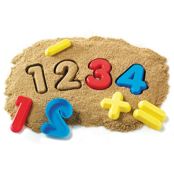 Sand Moulds Sets, Number, Age 3+, Set of 26