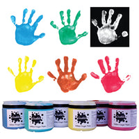 Finger Paint, Classic, Pack of 6 x 500g